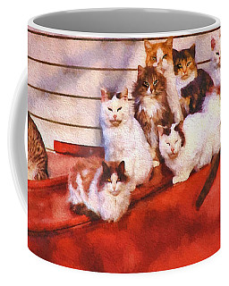 Countryside Cats Coffee Mug