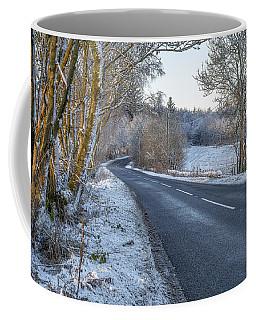 Countryside Road In Central Scotland Coffee Mug