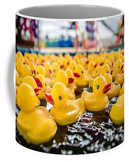 County Fair Rubber Duckies Coffee Mug
