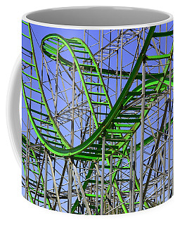 County Fair Thrill Ride Coffee Mug by Joe Kozlowski