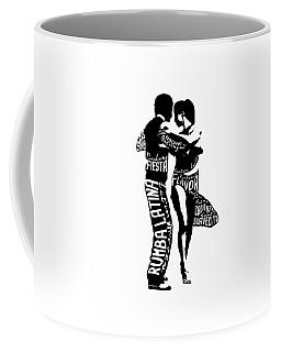 Couple Dancing Latin Music Coffee Mug