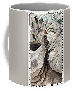 Courage To Stay In Winter Coffee Mug