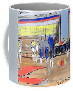 Court Side Conference Coffee Mug