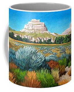 Courthouse And Jail Rocks Acrylic Coffee Mug