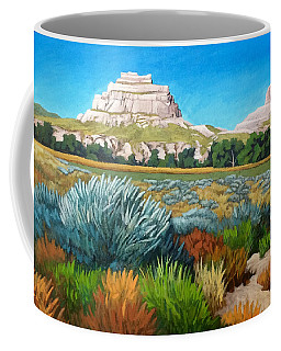 Courthouse And Jail Rocks 2 Coffee Mug