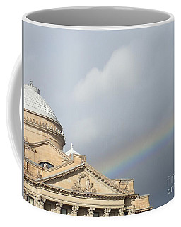 Courthouse Rainbow Coffee Mug