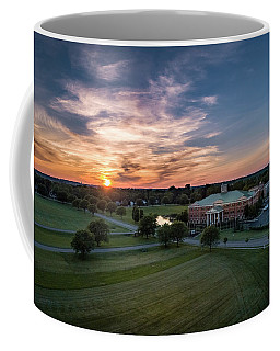 Courthouse Sunset Coffee Mug