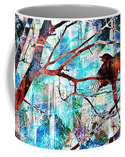 Courting Bird Coffee Mug
