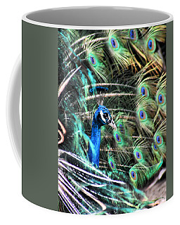 Coffee Mug featuring the photograph Courtship Dance by Howard Bagley