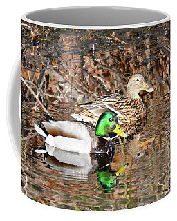 Courtship On The Lake Coffee Mug