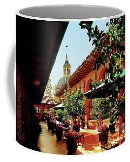 Courtyard At The Inn Coffee Mug