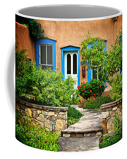 Courtyard, Santa Fe, New Mexico Coffee Mug