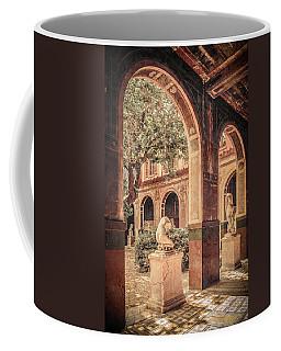 Paris, France - Courtyard West - L'ecole Des Beaux-arts Coffee Mug