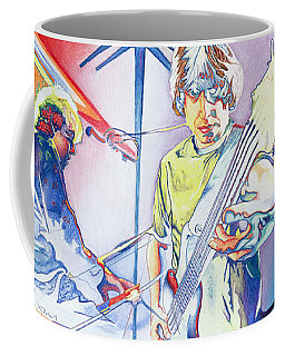Coffee Mug featuring the drawing Coventry Phish by Joshua Morton