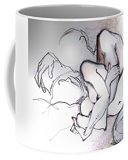 Embrace - Nude Couple Coffee Mug