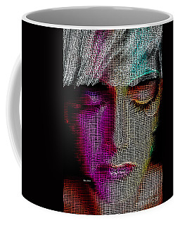 Coffee Mug featuring the digital art Cover Up by Rafael Salazar