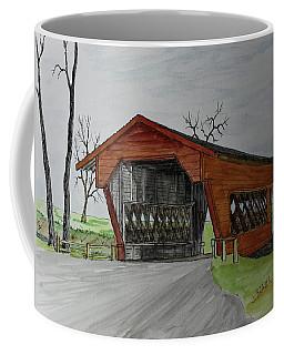 Covered Bridge   170208 Coffee Mug by Jack G Brauer