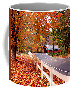 Covered Bridge In Brattleboro Vt Coffee Mug