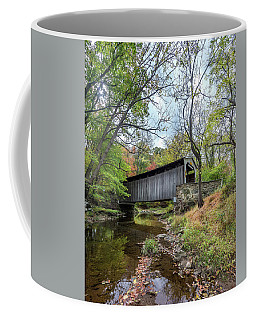 Covered Bridge In Pennsylvania During Autumn Coffee Mug