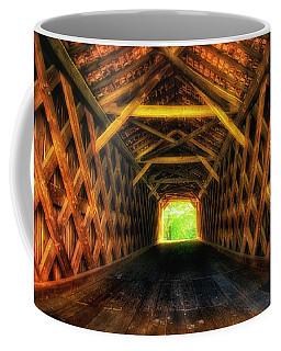 Covered Bridge Interior Coffee Mug