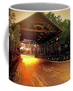 Covered Bridge Coffee Mug by Shelia Kempf
