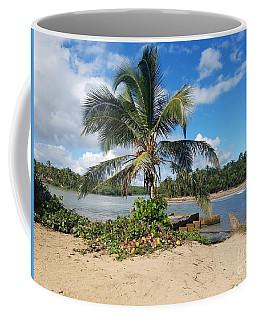 Covered Palm Beach Coffee Mug