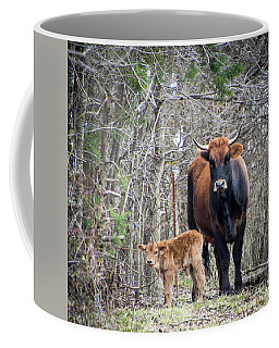 Cow And Calf Coffee Mug