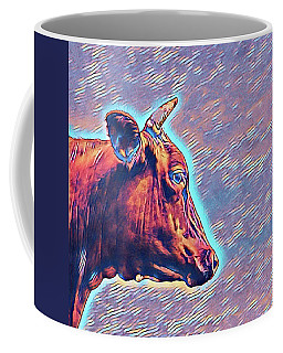Cow Contemplation Coffee Mug