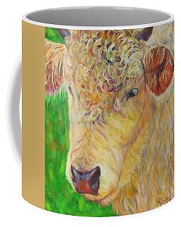 Cute And Curly Cow Coffee Mug