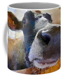 Cow Face Close Up Coffee Mug