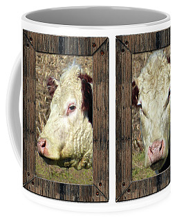 Cow Framed Coffee Mug
