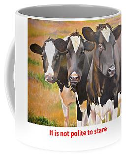 Cow Holstein Trio Coffee Mug