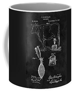 Cow Milker Patent Coffee Mug