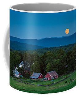 Cow Under The Moon Coffee Mug