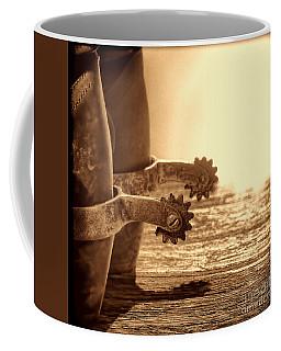 Cowboy Boots And Riding Spurs Coffee Mug