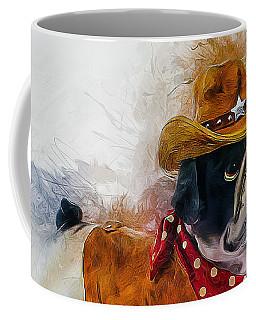 Cowboy Bulldog Coffee Mug