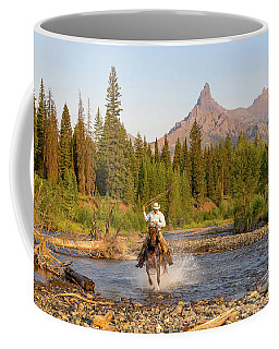 Coffee Mug featuring the photograph Cowboy Country by Jack Bell