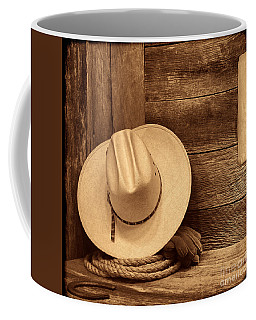 Cowboy Hat In Town Coffee Mug