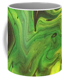 Coffee Mug featuring the painting Cowboys And Aliens by Robbie Masso