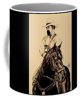 Cowboys, Smoke And Guns Coffee Mug