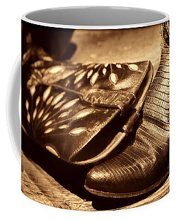 Cowgirl Gator Boots Coffee Mug by American West Legend By Olivier Le Queinec