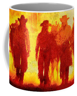 Cowpeople Coffee Mug by Caito Junqueira