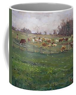 Cows In A Farm, Georgetown  Coffee Mug