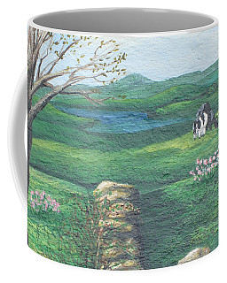 Cows In Field Coffee Mug