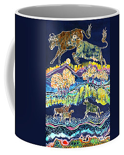 Cows Jumping Over The Moon Coffee Mug