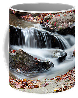 Coxing Kill In Autumn #1 Coffee Mug by Jeff Severson