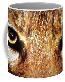 Cyote Eyes Coffee Mug by Adam Olsen