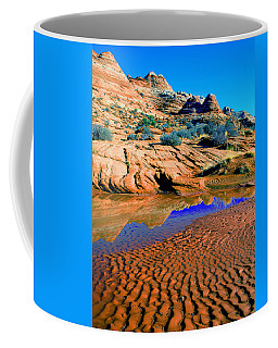 Coyote Buttes Reflection Coffee Mug