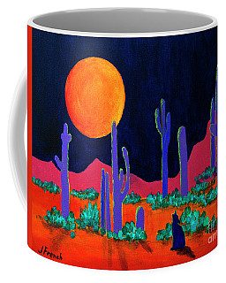 Coyote Moon Coffee Mug