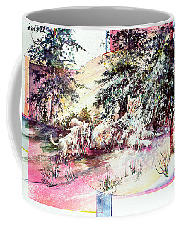 Coyote Pups Coffee Mug
